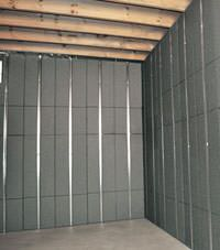 Thermal insulation panels for basement finishing in Pocatello, Idaho